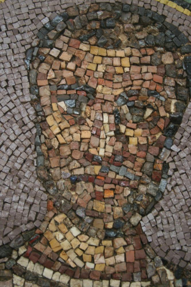 Funerary mosaic, 2nd century A.D.